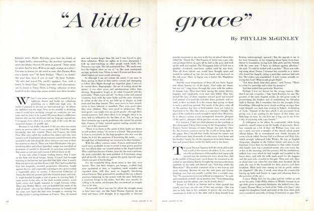 """""""A Little Grace"""""""