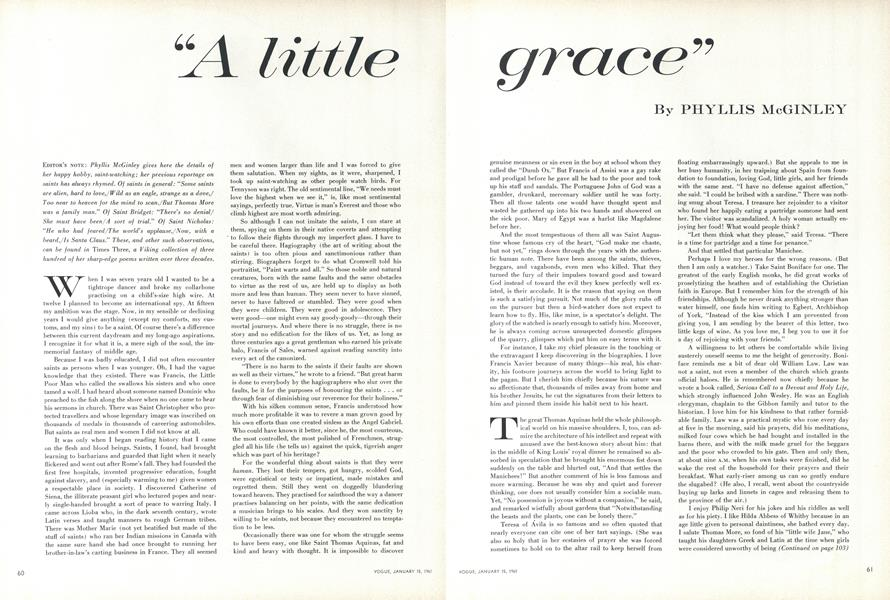 """A Little Grace"""