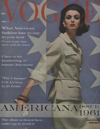 Cover for the February 1 1961 issue