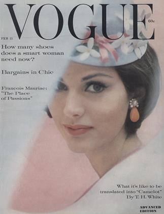 Cover for the February 15 1961 issue