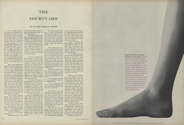 Article Preview: The Courtyard, February 15 1961 | Vogue