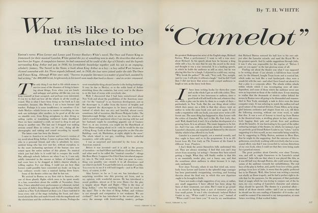 "What It's Like to Be Translated into ""Camelot"""