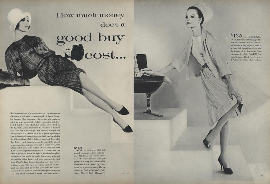 How Much Money Does a Good Buy Cost...