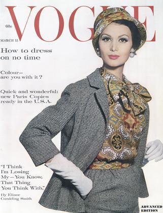 MARCH 15, 1961 | Vogue