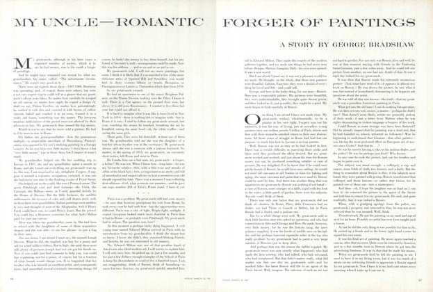 My Uncle–Romantic Forger of Paintings
