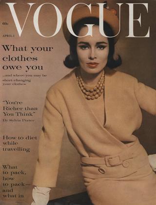 APRIL 1, 1961 | Vogue