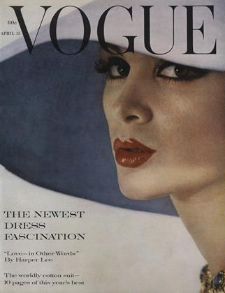 Cover for the April 15 1961 issue