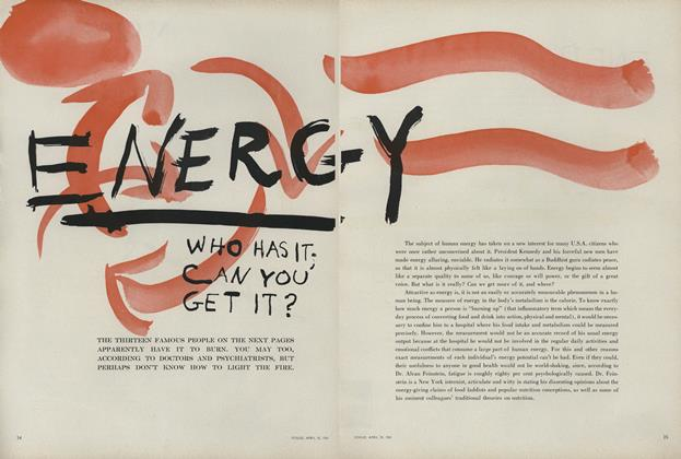 Energy: Who Has It; Can you get it?