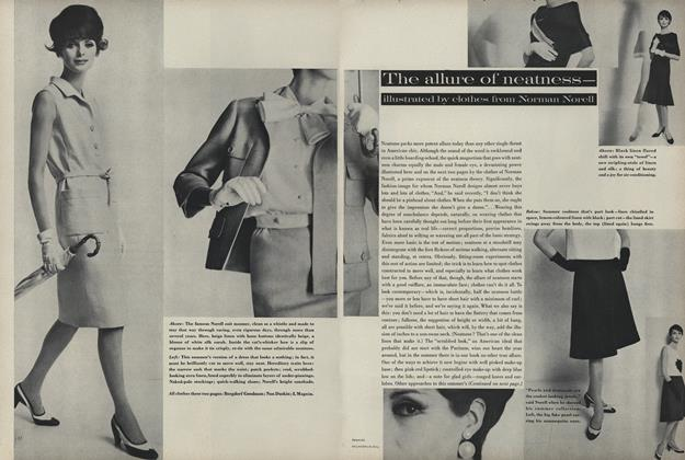 The Allure of Neatness—Illustrated by Clothes from Norman Norell