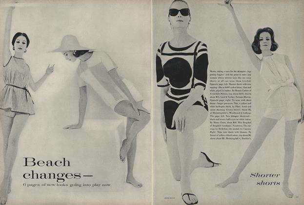 Beach Changes —6 Pages of New Looks Going into Play Now