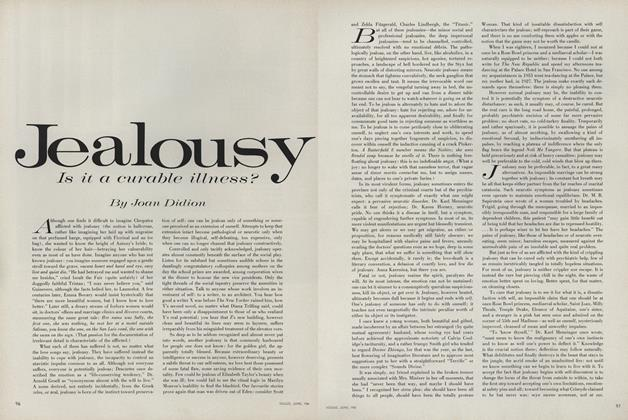 Jealousy: Is It a Curable Illness?
