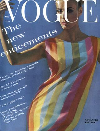 Cover for the July 1961 issue
