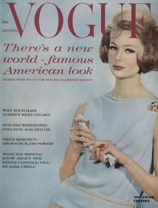 Cover for the August 1 1961 issue
