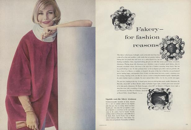 Fakery–for Fashion Reasons