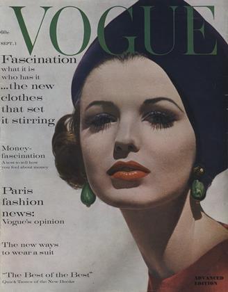 SEPTEMBER 1, 1961 | Vogue