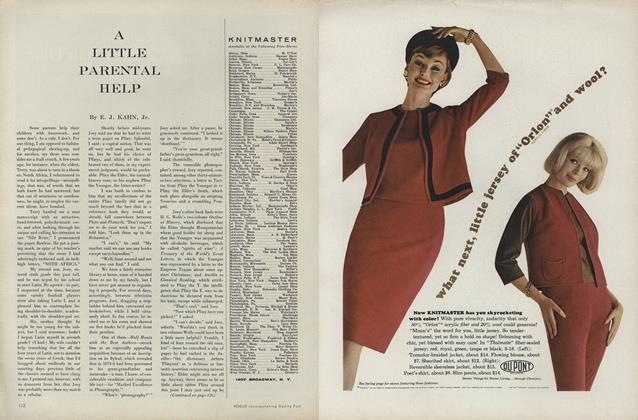 Article Preview: A Little Parental Help, September 1 1961 | Vogue