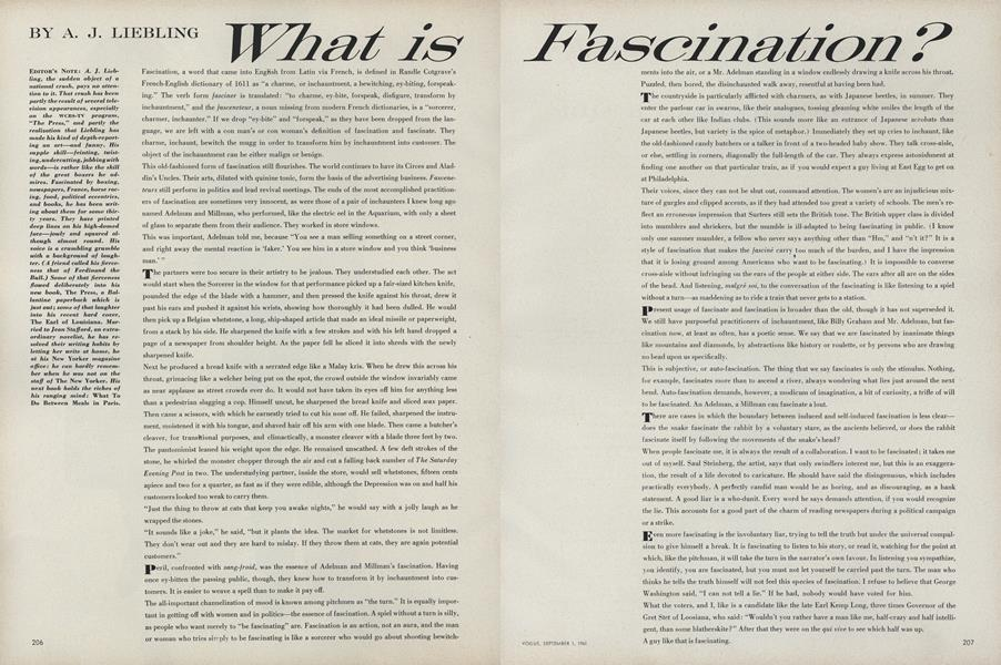 What is Fascination?