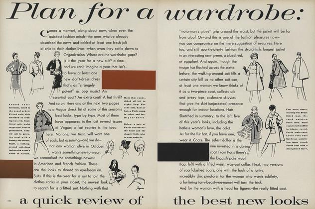 Plan for a Wardrobe: A Quick Review of the Best New Looks