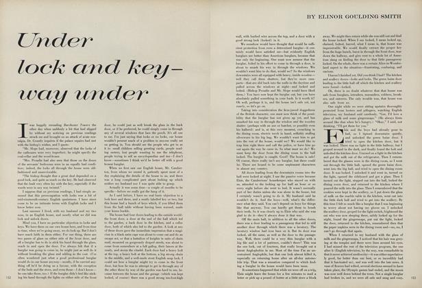 Under Lock and Key - Way Under