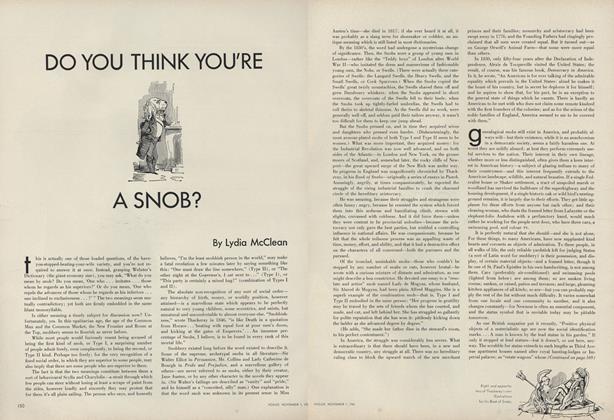 Do You Think You're a Snob?