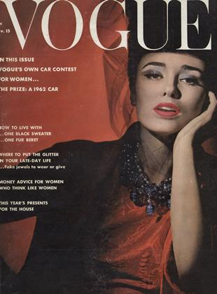 Cover for the November 15 1961 issue