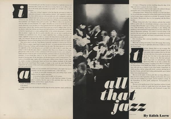Article Preview: All That Jazz, November 15 1961 | Vogue