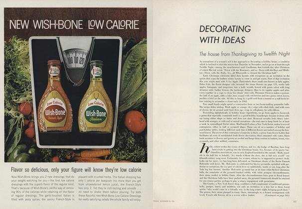 Article Preview: Decorating with Ideas, November 15 1961 | Vogue