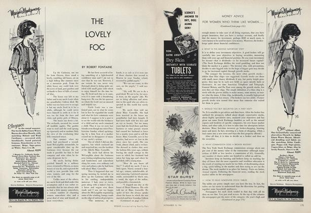 Article Preview: The Lovely Fog, November 15 1961 | Vogue