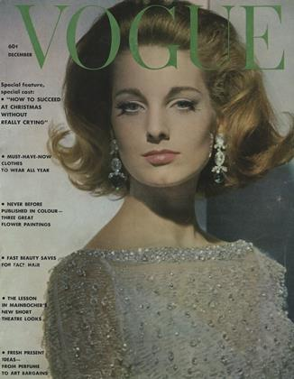 Cover for the December 1961 issue