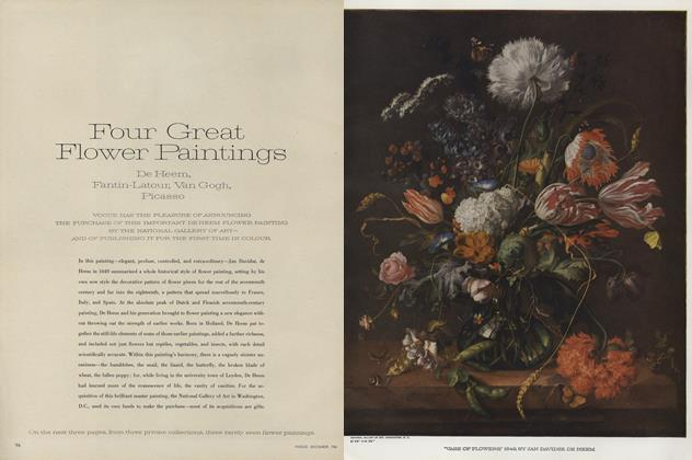 Four Great Flower Paintings: De Heem, Fantin-Latour, Van Gogh, Picasso