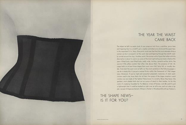 Article Preview: The Shape News—Is It for You?, February 15 1962 | Vogue
