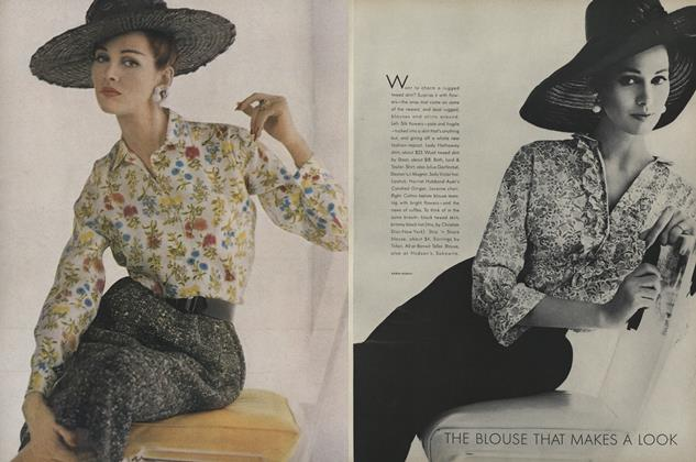 Article Preview: The Blouse that Makes a Look, February 15 1962 | Vogue