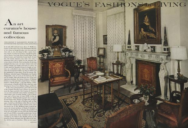 Article Preview: An Art Curator's House and Famous Collection, February 15 1962 | Vogue