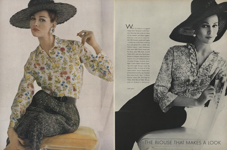 The Blouse that Makes a Look