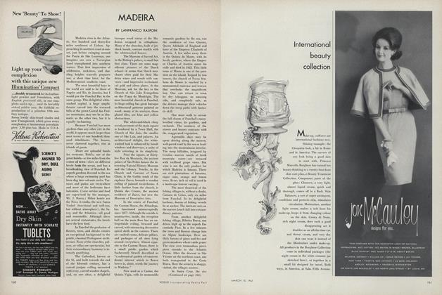 Article Preview: Madeira, March 15 1962 | Vogue