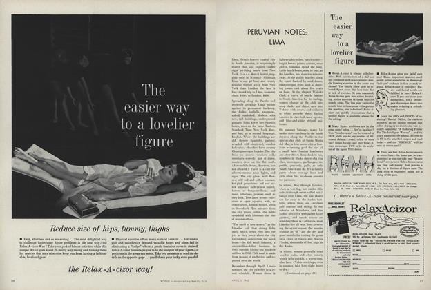 Article Preview: Peruvian Notes: Lima, April 1 1962 | Vogue