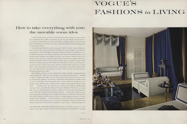 Article Preview: How to Take Everything with You, April 1 1962 | Vogue