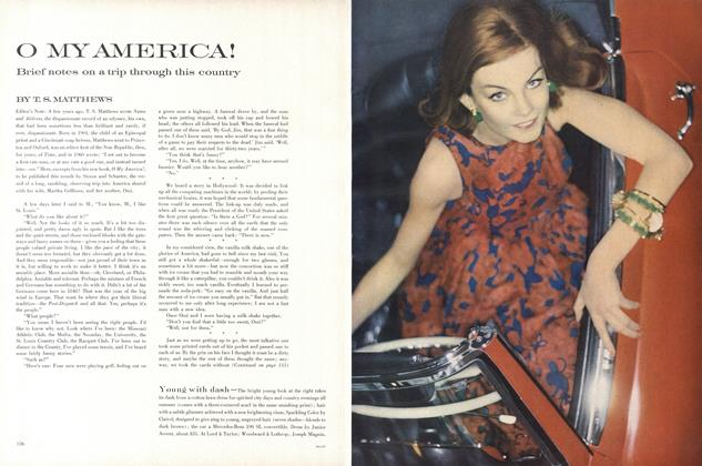 Article Preview: O My America!, April 15 1962 | Vogue