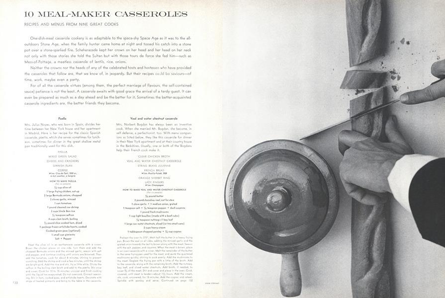 10 Meal-maker Casseroles