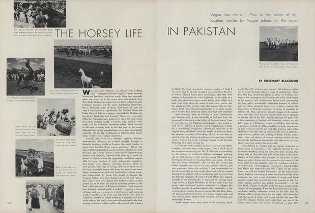 The Horsey Life in Pakistan