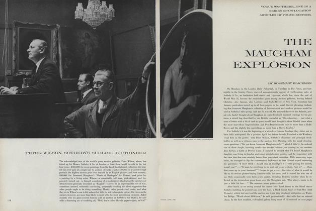 The Maugham Explosion