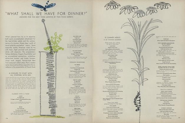"Article Preview: ""What Shall we Have for Dinner?"" Answers for the Next Three Months by Two Food Experts, June 1962 