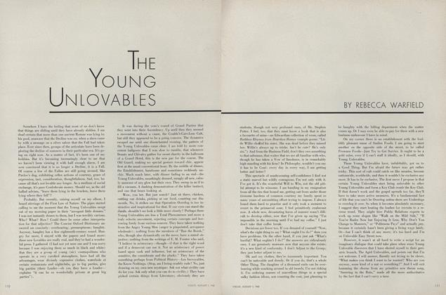 THE YOUNG UNLOVABLES