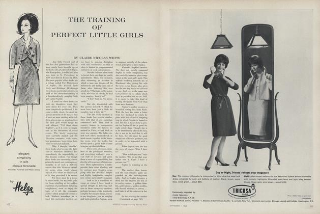 The Training of Perfect Little Girls