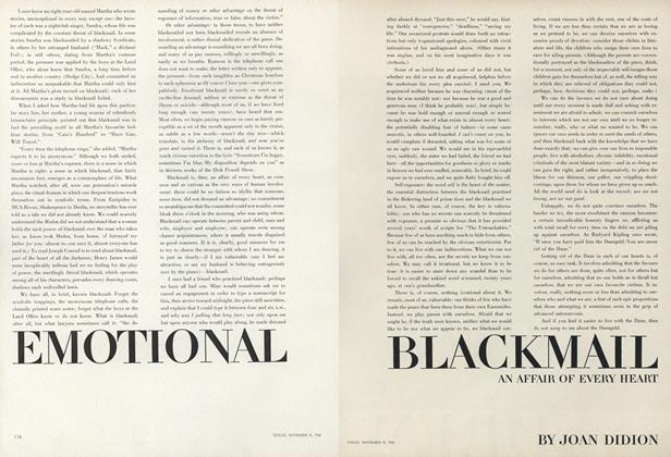 Emotional Blackmail - An Affair of the Heart