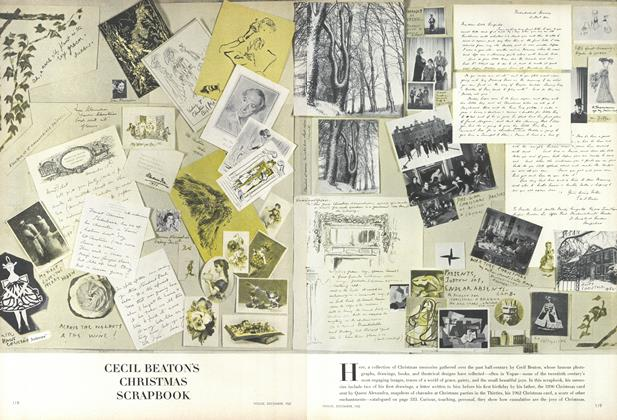 Cecil Beaton's Christmas Scrapbook