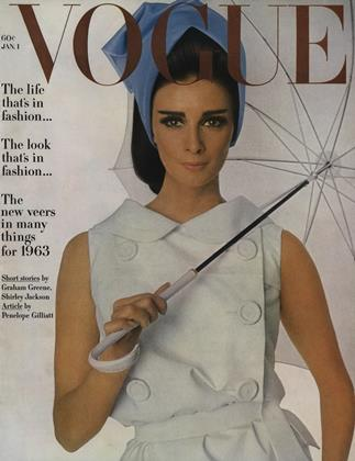 Cover for the January 1 1963 issue