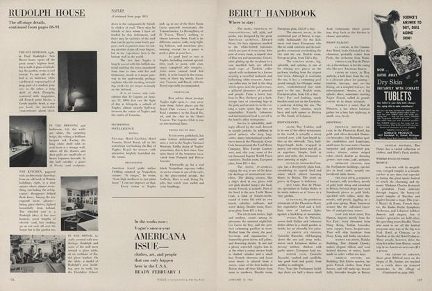 Article Preview: Beirut Handbook, January 15 1963 | Vogue