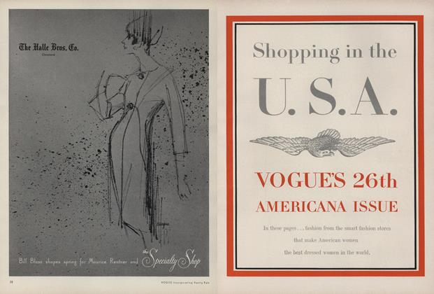 Shopping in the U. S. A. Vogue's 26th Americana Issue