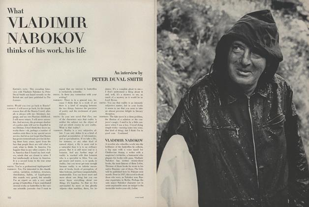 What Vladimir Nabokov Thinks of His Work, His Life